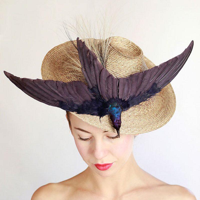 sombrero paja vintage madrid